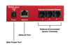 Room Alert 12ER-Server monitorizare temperatura, umiditate, curent | RA12E-TH1-RAS